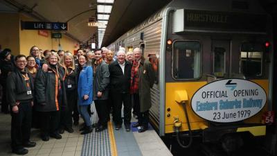 Eastern Suburbs Railway turns 40